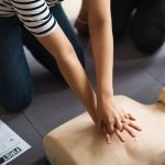 CPR Classes Mannequin & Girl
