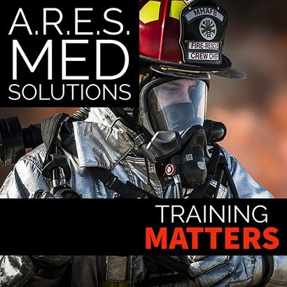 In Rescue Training Matters Firefighter In Silver Suit