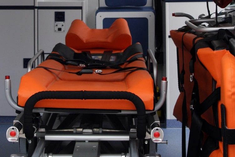 Ambulance Stretcher Photo EMT